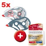 5 Korrektur Refill Roller + Diadermine Hautcreme