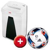 Aktenvernichter Securio B22 + Gutschein für EM-Fußball GRATIS