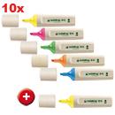 highlighter EcoLine 10 + 1 GRATIS