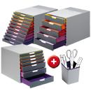 Schubladenbox VARICOLOR + Stifteköcher GRATIS