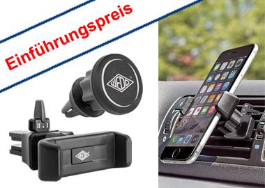 Smartphone-Halterung für KFZ-Lüftungsschlitze
