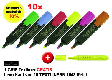 Textmarker TEXTLINER 1548 Refill