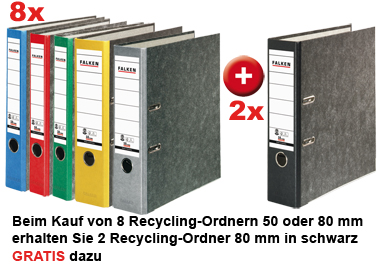 Recycling-Ordner
