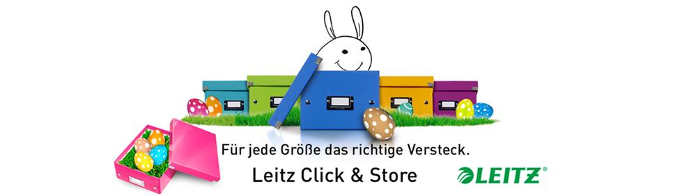 Click & Store Aufbewahrungs- und Transportboxen - zu Ostern für jede Größe das richtige Versteck!