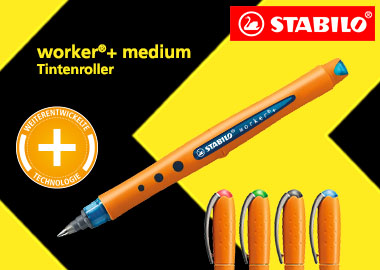 Tintenroller worker®+ medium
